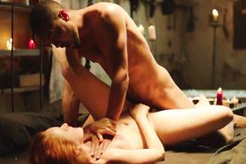 Страстный половой акт с рыженькой девушкой
